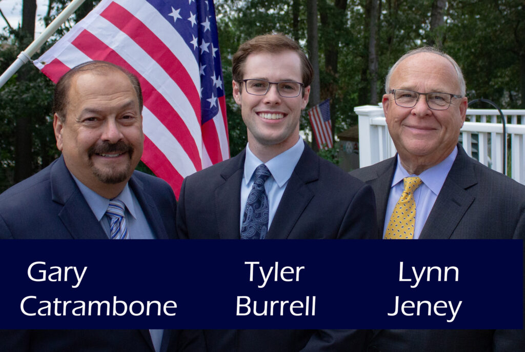 Catrambone for Mayor, Burrell and Jeney for Council